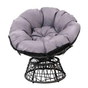 ODF PAPASAN CH BK 02 300x300 - Gardeon Papasan Chair - Black