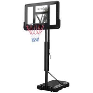 BAS HOOP 305 BK 00 300x300 - Everfit 3.05M Basketball Hoop Stand System Ring Portable Net Height Adjustable Black