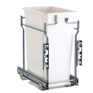 POT B 20L WH 00 300x300 - Devanti 20L Pull Out Bin Door Mount Kitchen Rubbish Bin White