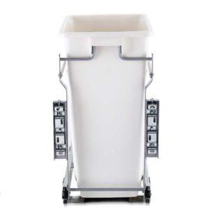 POT B 20L WH 03 300x300 - Devanti 20L Pull Out Bin Door Mount Kitchen Rubbish Bin White