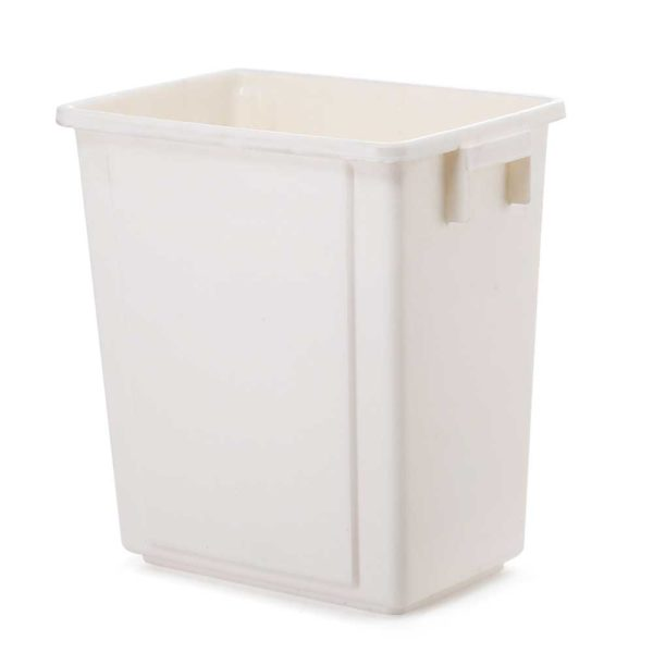 POT B 20L WH 04 600x600 - Devanti 20L Pull Out Bin Door Mount Kitchen Rubbish Bin White