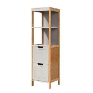 FUNKI K BAM 3868 NT GY 00 300x300 - Artiss Bathroom Cabinet Tallboy Furniture Toilet Storage Laundry Cupboard 115cm
