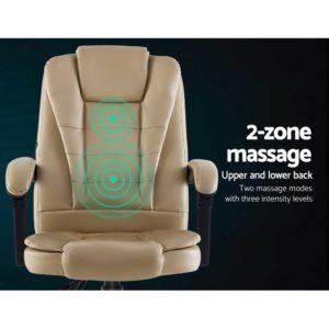 MOC 09M 2P KI 03 300x300 - Artiss Massage Office Chair Gaming Chair Recliner Computer Chairs Khaki