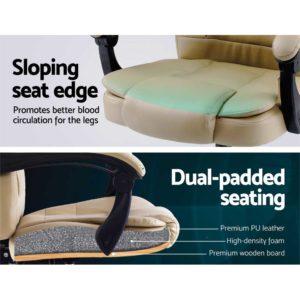 MOC 09M 2P KI 05 300x300 - Artiss Massage Office Chair Gaming Chair Recliner Computer Chairs Khaki