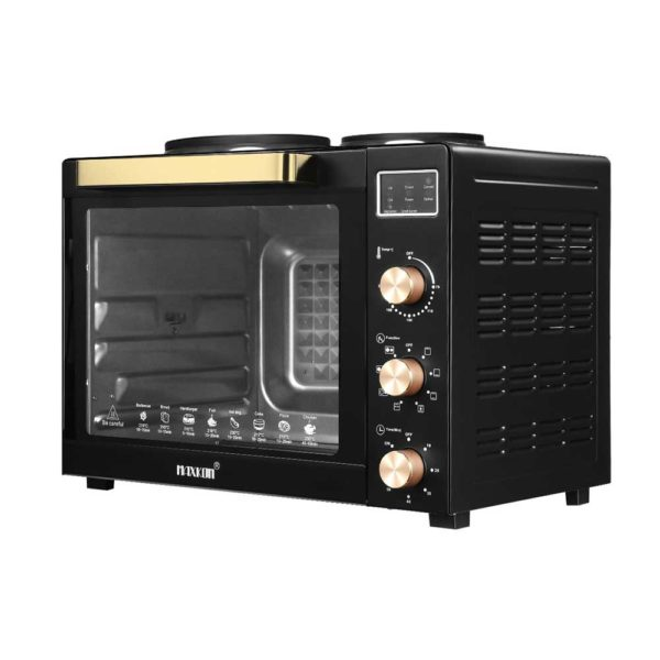 184729 1354193 HD 600x600 - 45L Portable Electric Benchtop Oven Convection Bake Toaster Rotisserie Hot Plate