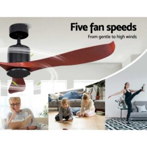 """CF B 56 NL 147 LW 02 300x300 - 56"""" DC Motor Ceiling Fan with Remote 8H Timer Reverse Mode 5 Speeds Wooden"""