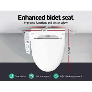 BIDET ELEC 600 WH 01 300x300 - Electric Toilet Bidet - White