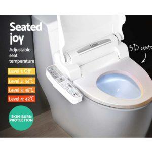 BIDET ELEC 600 WH 02 300x300 - Electric Toilet Bidet - White