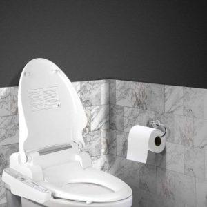 BIDET ELEC 600 WH 06 300x300 - Electric Toilet Bidet - White