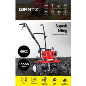 GTC SET 6B OG 03 300x300 - Giantz 72CC Garden Cultivator Tiller Petrol Rotary Hoe 36 Tines Rototiller