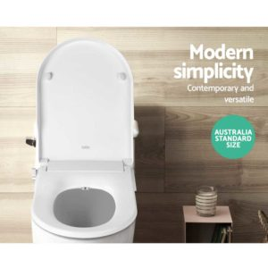 BIDET N ELEC 04 WH 02 300x300 - Non Electric Bidet Toilet Seat - White