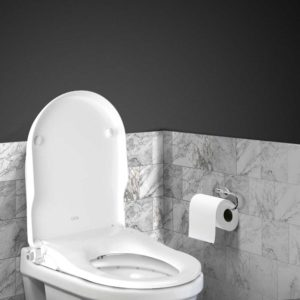 BIDET N ELEC 04 WH 05 300x300 - Non Electric Bidet Toilet Seat - White