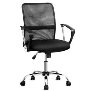 OCHAIR G 8009L BK 00 300x300 - Artiss Office Chair Gaming Chair Computer Mesh Chairs Executive Mid Back Black