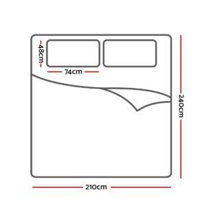 QCS MF PATTERN 002 K 70 01 300x300 - Giselle Bedding Quilt Cover Set King Bed Doona Duvet Reversible Sets Flower Pattern Green