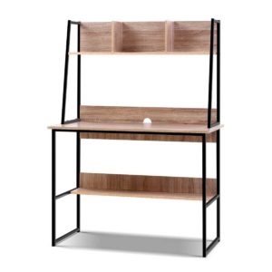 FURNI F DESK 100 WD 00 300x300 - Artiss Office Computer Desk Study Table Workstation Bookshelf Storage Oak