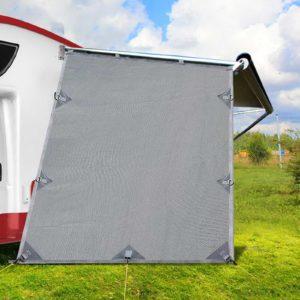 AWN CV B SS END 99 300x300 - Grey Caravan Privacy Screen 1.95 x 2.2M End Wall Side Sun Shade Roll Out Awning