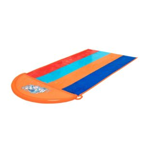BW SLIDE T 52323 00 300x300 - Bestway Water Slip And Slide Kids Inflatable Splash Toy Quadruple 4.88M