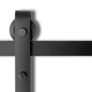 GA SDOOR D 4M COMBO 00 300x300 - 4M Sliding Barn Door Hardware Track Set Home Office Bedroom Interior Closet