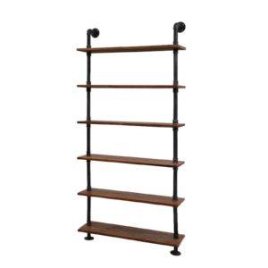 PIPE DIY SHELF 90 00 300x300 - Artiss Rustic Vintage DIY Pipe Shelf Shelves Brackets Wall Display Bookshelf