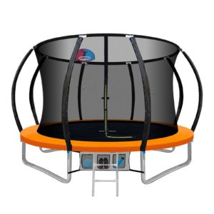 TRAMPO C C10 OR AB 00 300x300 - 10FT Trampoline Round Trampolines With Basketball Hoop Kids Present Gift Enclosure Safety Net Pad Outdoor Orange