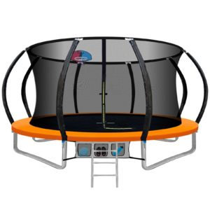 TRAMPO C C12 OR AB 00 300x300 - 12FT Trampoline Round Trampolines With Basketball Hoop Kids Present Gift Enclosure Safety Net Pad Outdoor Orange