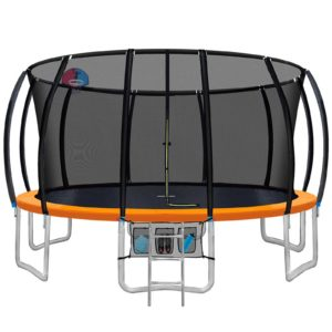 TRAMPO C C16 OR ABC 00 300x300 - 16FT Trampoline Round Trampolines With Basketball Hoop Kids Present Gift Enclosure Safety Net Pad Outdoor Multi-coloured