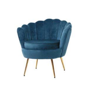 UPHO 5002 VEL NA 00 300x300 - Artiss Armchair Lounge Chair Accent Retro Armchairs Lounge Shell Velvet Navy
