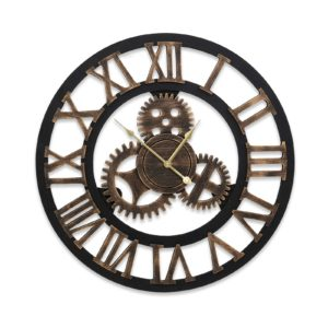 WC MDF 182080 BK 00 300x300 - Wall Clock Extra Large Vintage Silent No Ticking Movements 3D Home Office Decor - 80cm